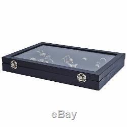 Livivo 100 Ring Velvet Jewellery Display Box Storage Tray Case Holder Organiser