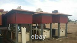Mall Kiosk Outside Strip Retail Plaza Island Mobile Cart Stand Storage Shed Expo