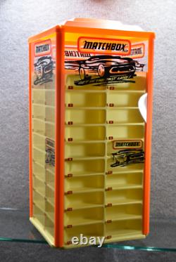 Matchbox Get In The Fast Lane! Rotating Store Display