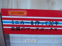 Matchbox Original Store Display Case in Japanese 1980's Vintage Rare Japan #3880