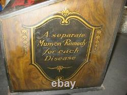 Munyon's Homoeopathic Home Rememdies Store Display Case