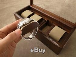 NEW Toyooka Craft Wooden Alder Watch Case Box Display 4 Slot Storage from Japan