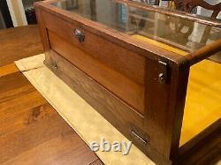 Nashville Show Case Co. Nashville, Tenn. Antique Store Display Case