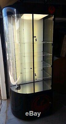 Nice Lighted Dragon Sunglass Retail Misc. Display Case with Storage Locks w Key