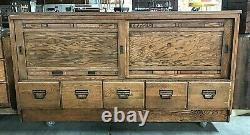 Oak Country / General Store Showcase & Humidor, Sherer Seed Cabinet / counter