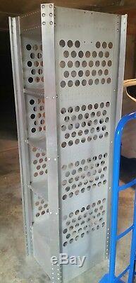 Oakley Vintage Rare Metal Aluminum Display Case 6ft Open Air Store Shelf Tower