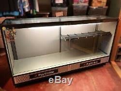 Original Sony PlayStation Retail Display Case. Vintage In-Store Unit. Lights Up