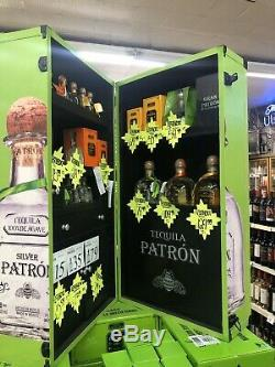 Patron Tequila Display Promotional Store Bar Trunk Case RARE 24x24x42