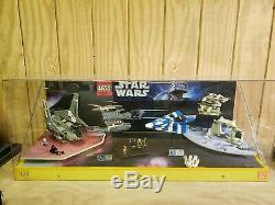 RARE Large Lego Star Wars Retail Store Display Case 8089 8093 8095 8096
