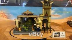 RARE Large Lego Star Wars Retail Store Display Case 9516 9496 9490 Jabbas Palace