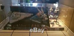 RARE Lego Star Wars Store Display Case 75055 & 75050 & microfighters