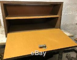 RARE Vintage 1950s Olsen Knife Co Fixed Blade Hunting Counter Store Display Case