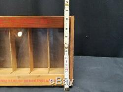 REMINGTON Advertising Counter Display Case HI-SPEED. 22's ORIGINAL OLD STORE