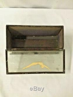 Rare Antique Jantzen swimwear wood/glass advertising counter store display case