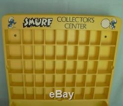 Smurf Collectors Center Store Display Case Smurfs Peyo Wallace Berrie 1980