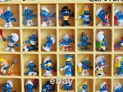 Smurfs Store Display Case Peyo Wallace Berrie Smurf