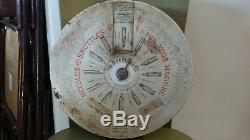 THE BOYE NEEDLE CO. ROUND STORE DISPLAY CASE FOR SELLING AND SELECTING. Pat 1907