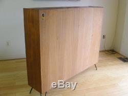Teak Hundevad Bookcase Display Case Credenza Danish Modern Storage Mid Century