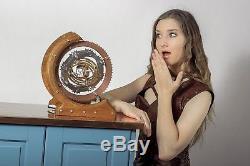 Unique Watch Winder Automatic Box Display Case Storage Wood Rotation Single