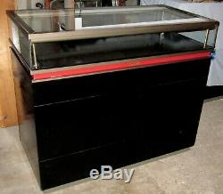 Used Cartier Display Case Store Counter Showcase Cabinet Glass Top Lighted