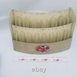 Vintage Antique Boye Needle Co Metal Store Display Case Crochet Hook Display