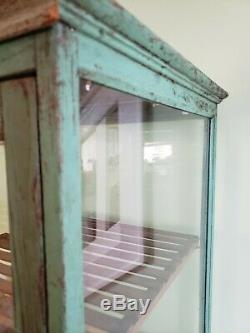 Vintage Antique General/Country Store Mercantile Antique Countertop Display Case