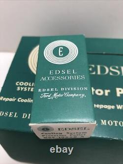 Vintage Edsel Radiator Protector Pellets -Case Of 12 -NOS- FOMOCO -Store Display