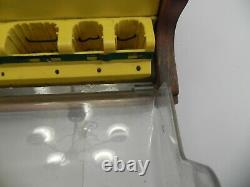 Vintage HANSON JOBBERS DRILL BIT Store Display Case with Key