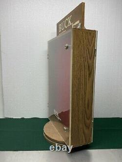 Vintage Hardware Store Buck Knife Display Case