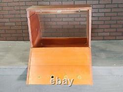 Vintage KAYWOODIE Pipe Tobacco Store Advertising Display Counter Top Case RARE