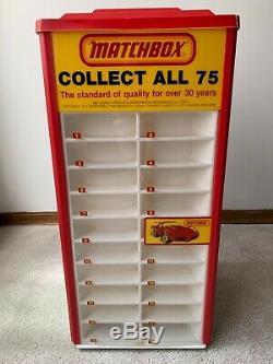 Vintage Lesney Rotating Store Display Matchbox Display Case
