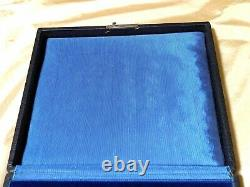 Vintage Multi Ring Box Display Case (Great for Antique Ring Storage)