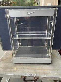 Vintage Nike Acrylic Shoe Store Display Case