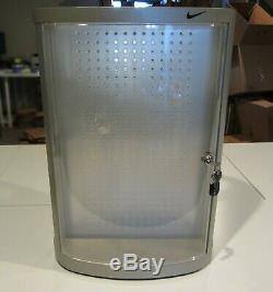 Vintage Nike Swivel Store Display Lock Case for Watches, Sunglasses, Accessories