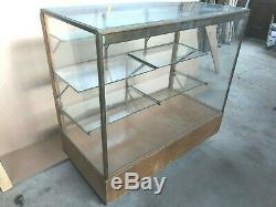 Vintage Original PARKER Pen Show Glass Display Store Fixture Case, Vacumatic