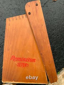 Vintage Remington Hi-Speed 22's Store Display Case Original Condition 16x10