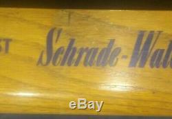 Vintage Schrade Walden Pocket Knife Store Display Case For Collectors Knives Old