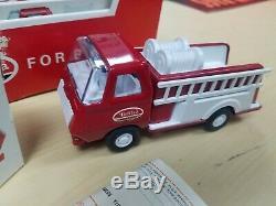 Vintage Tiny Tonka Fire Pumper 595 Store Display Case 12 Boxed Tonka Trucks
