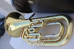 Yamaha NEO YBH831 Horn YBH 831 Baritone wth Hard Case STORE DISPLAY PROFESSIONAL